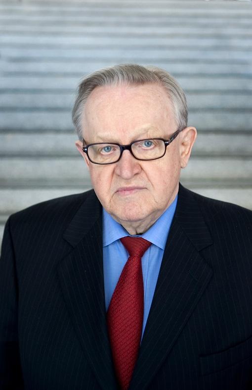 marrti ahtisaari, friedensnobelpreisträger