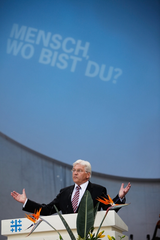 f.-w. steinmeier, außenminister