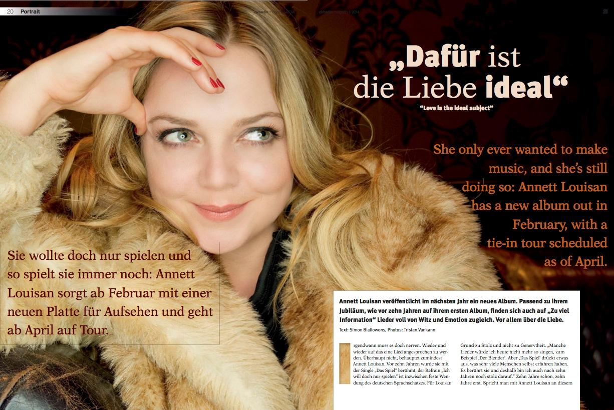 air berlin magazin, titel 1/2014