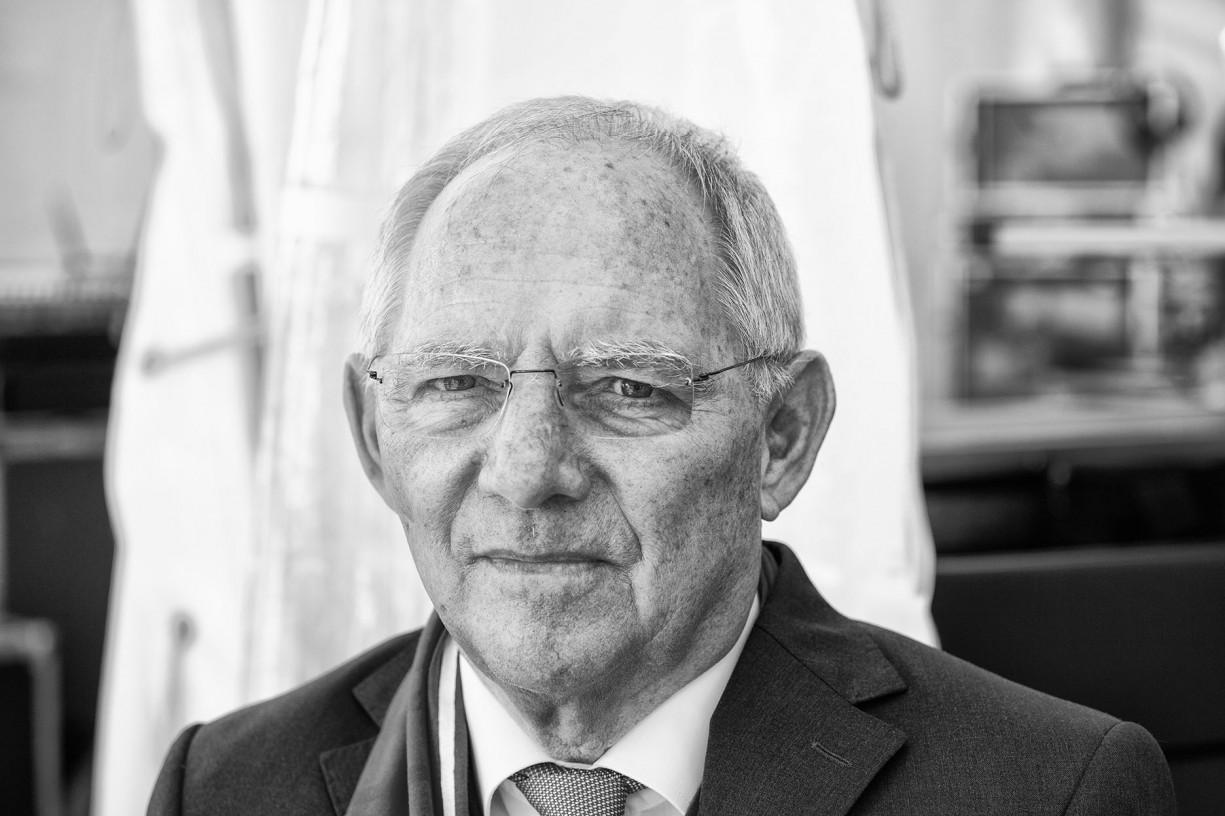 wolfgang schäuble, präsident des deutschen bundestages, 2017